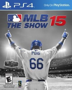 Jaquette de MLB 15 : The Show PS4