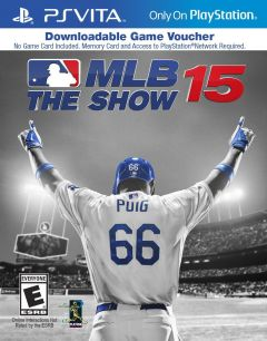 Jaquette de MLB 15 : The Show PS Vita