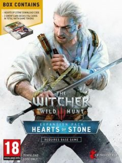 Jaquette de The Witcher III : Wild Hunt - Hearts of Stone PC