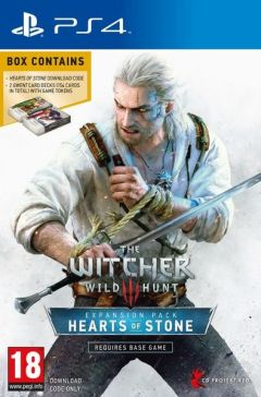 Jaquette de The Witcher III : Wild Hunt - Hearts of Stone PS4