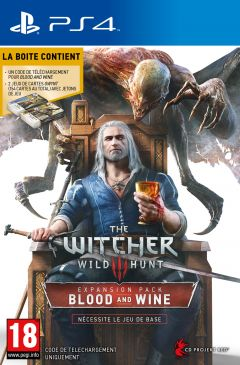 Jaquette de The Witcher III : Wild Hunt - Blood and Wine PS4
