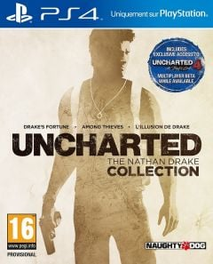 Jaquette de Uncharted : The Nathan Drake Collection PS4