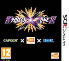 Jaquette de Project X Zone 2 : Brave New World Nintendo 3DS