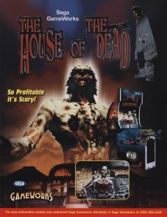Jaquette de The House of the Dead Arcade