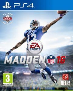 Jaquette de Madden NFL 16 PS4