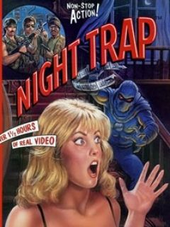 Jaquette de Night Trap Megadrive