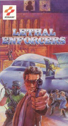 Jaquette de Lethal Enforcers Megadrive