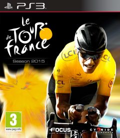 Jaquette de Le Tour de France 2015 PlayStation 3