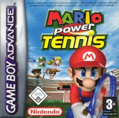Jaquette de Mario Power Tennis Game Boy Advance