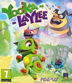 Jaquette de Yooka-Laylee Wii U