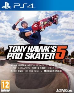 Jaquette de Tony Hawk's Pro Skater 5 PS4
