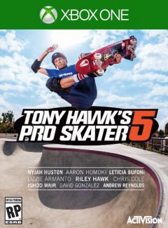 Jaquette de Tony Hawk's Pro Skater 5 Xbox One