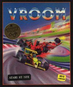 Jaquette de Vroom Atari 2600