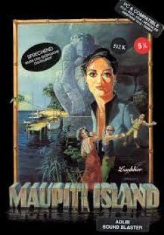 Jaquette de Maupiti Island (original) Atari 2600