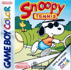 Jaquette de Snoopy Tennis Game Boy