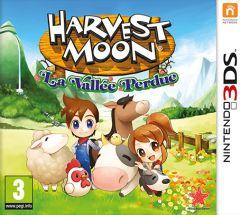 Jaquette de Harvest Moon : La Vallée Perdue Nintendo 3DS