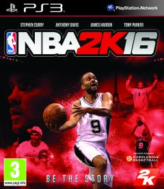 Jaquette de NBA 2K16 PlayStation 3