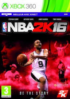 Jaquette de NBA 2K16 Xbox 360