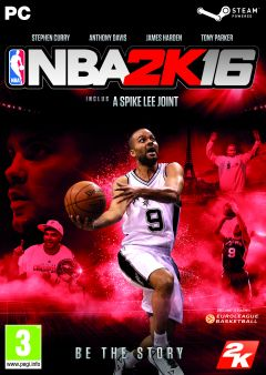 Jaquette de NBA 2K16 PC