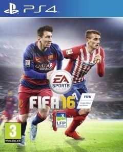 Jaquette de FIFA 16 PS4