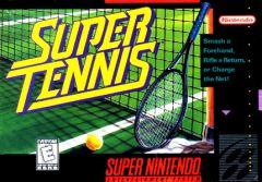Jaquette de Super Tennis Super NES