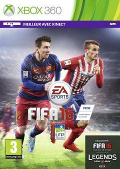 Jaquette de FIFA 16 Xbox 360