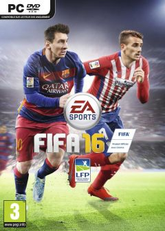 Jaquette de FIFA 16 PC