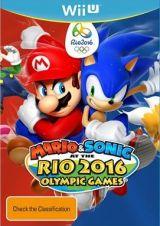 Jaquette de Mario & Sonic aux Jeux Olympiques de Rio 2016 Wii U