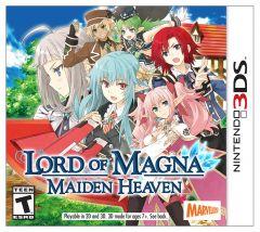 Jaquette de Lord of Magna : Maiden Heaven Nintendo 3DS