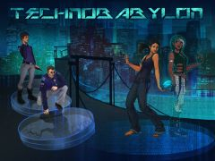 Jaquette de Technobabylon PC