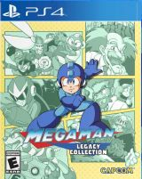 Jaquette de Mega Man Legacy Collection PS4