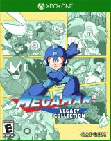 Jaquette de Mega Man Legacy Collection Xbox One