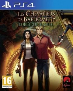 Jaquette de Les Chevaliers de Baphomet 5 : La Malédiction du Serpent (Episode 1) PS4