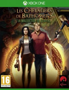 Jaquette de Les Chevaliers de Baphomet 5 : La Malédiction du Serpent (Episode 1) Xbox One