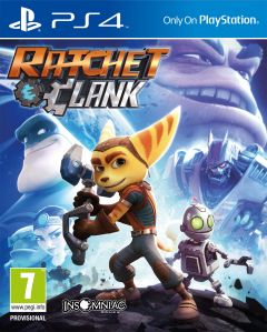 Jaquette de Ratchet & Clank PS4