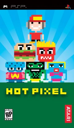 Jaquette de HOT PIXEL PSP