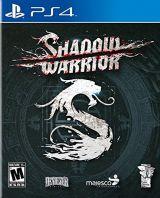 Jaquette de Shadow Warrior 2 PS4