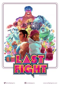 Jaquette de LASTFIGHT PlayStation 3