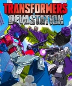 Jaquette de Transformers Devastation PS4