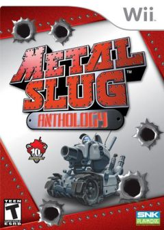 Jaquette de Metal Slug Anthology Wii
