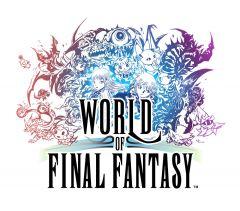 Jaquette de World of Final Fantasy PS Vita