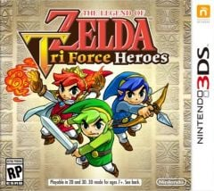 Jaquette de The Legend of Zelda : Tri Force Heroes Nintendo 3DS
