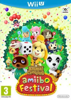 Jaquette de Animal Crossing : amiibo Festival Wii U