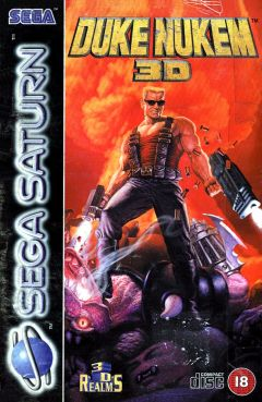 Jaquette de Duke Nukem 3D Sega Saturn