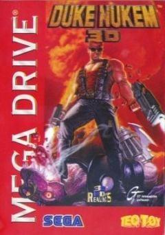 Jaquette de Duke Nukem 3D Mega Drive