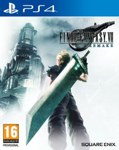 Jaquette de Final Fantasy VII Remake PS4