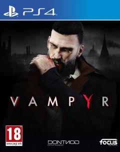 Jaquette de Vampyr PS4