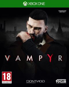 Jaquette de Vampyr Xbox One