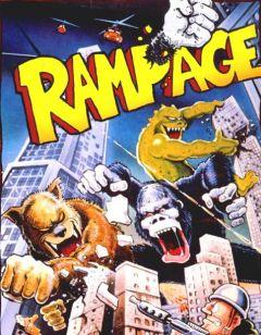 Jaquette de Rampage Atari 2600