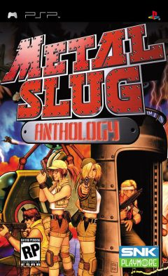 Jaquette de Metal Slug Anthology PSP